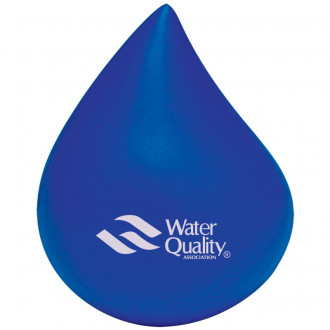 Blue Water Drop Stress Balls