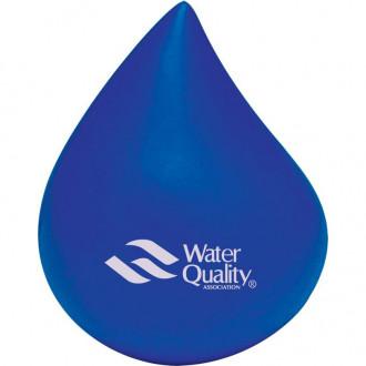 Blue Water Drop Stress Balls
