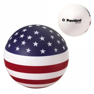 USA Round Stress Balls