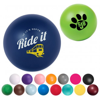 Round Stress Ball - More Colors!