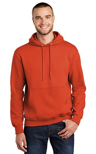 Port & Company 9-Ounce Hooded Sweatshirts - Screen Printed
