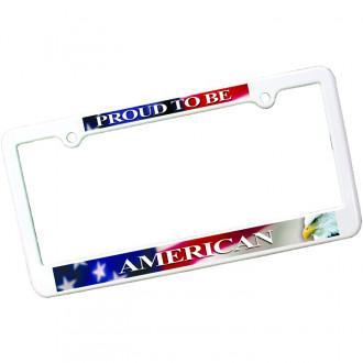 4 Holes License Plate Frame Full Color Digital