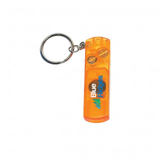 Whistle, Lights and Compass Key Chains