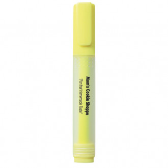 Rectangular Highlighters with Frosted Barrel
