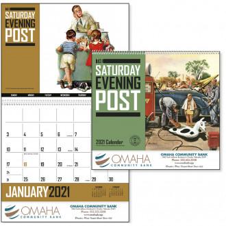 Full Color Saturday Evening Post Calendars