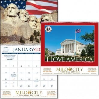 I Love America Calendars