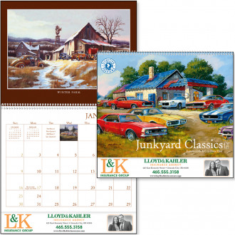 Junkyard Classics by Dale Klee Calendars