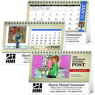 The Saturday Evening Post Desk Calendars