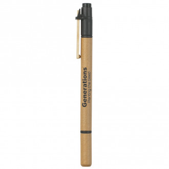 Dual Function Eco-Friendly Pens and Highlighters