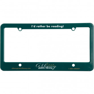 License Plate Frame With Straight 4 Holes