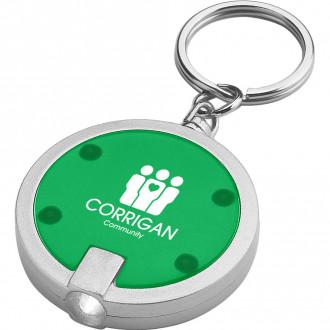 Round LED Key Chains