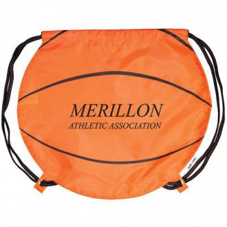 Gametime Basketball Drawstring Backpacks