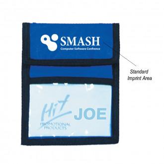 Nylon Neck Wallets Badge Holders