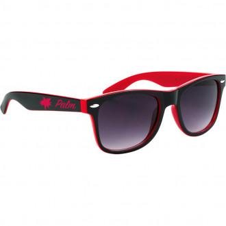 Two-Tone Malibu Sunglasses with Black Frame