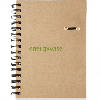 ECO Hard Cover Spiral Notebooks - 5 3/4 x 8 1/4
