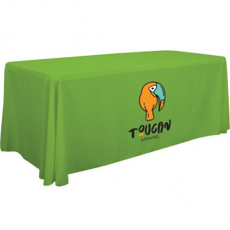 Full Color 6' Economy Table Throw