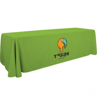 Full Color 8' Economy Table Throw