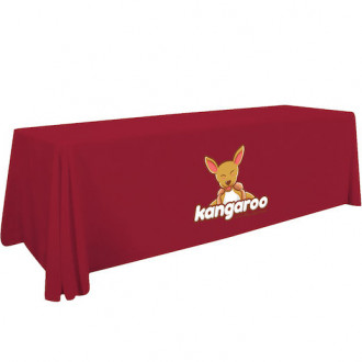 Full Color 6' Standard Table Throw