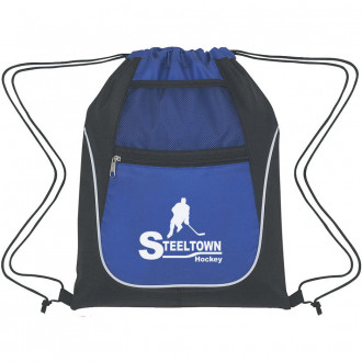 Drawstring Sports Packs With Dual Pockets