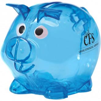 Mini Plastic Piggy Banks