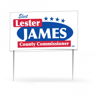 Double-Sided Yard Signs - 21 x 34.5