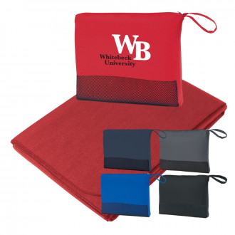 Custom Travel Blankets