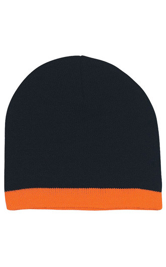 Knit Beanies With Stripe