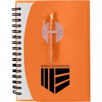 Spiral Notebooks with Shorty Pens