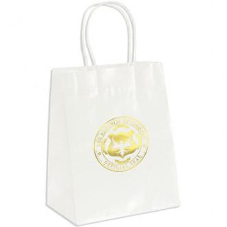 Amanda Gloss White Paper Shopper
