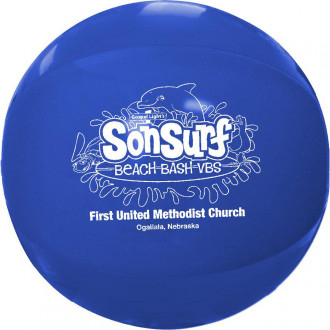 Solid Color Beach Balls 16