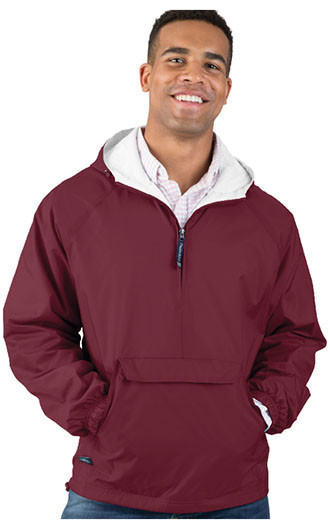 Unisex Classic Solid Quarter Zip Pullover