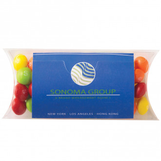 Skittles Pillow Cases with Business Card Slot