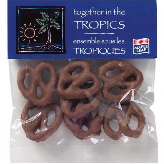 1 oz. Header Bags - Chocolate Pretzels