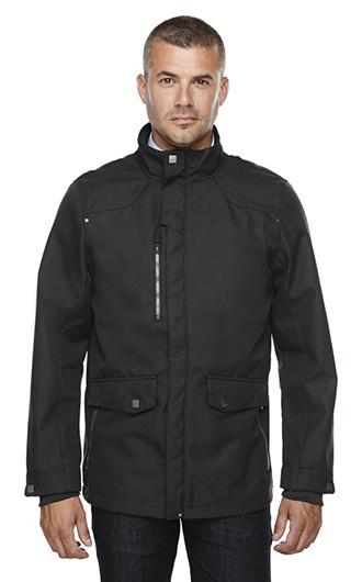 Uptown Men's 3-Layer Lights Bonded City Soft Shell Jacket