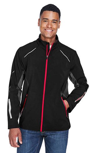 Pursuit Men's 3-Layer Lights Bonded Hybrid Soft Shell Jackets