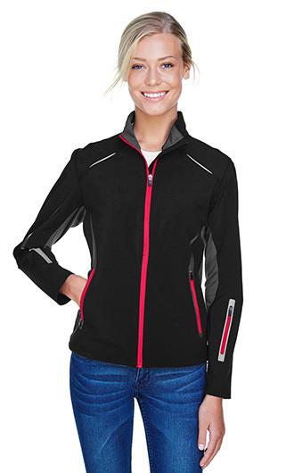 Pursuit Women's 3-Layer Lights Bonded Hybrid Soft Shell Jackets
