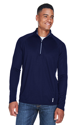 Radar Men's Quarter-Zip Performance Long Sleeve Top