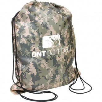 Camo Drawstring Backpacks