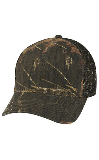 Hunter's Retreat Mesh Back Camouflage Caps