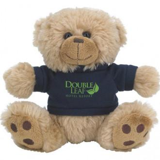Plush Big Paw Bear with Shirts 6