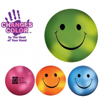 Mood Smiley Face Stress Balls