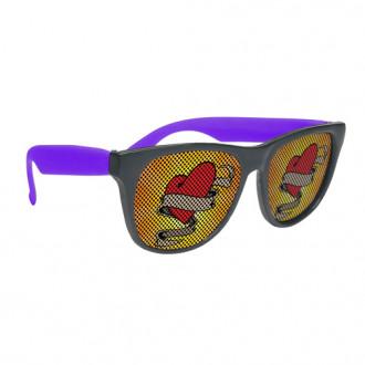 Rubber Pinhole Malibu Sunglasses