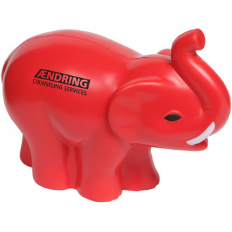 Elephant With Tusk Stress Relievers