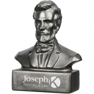 Abraham Lincoln Bust Stress Relievers