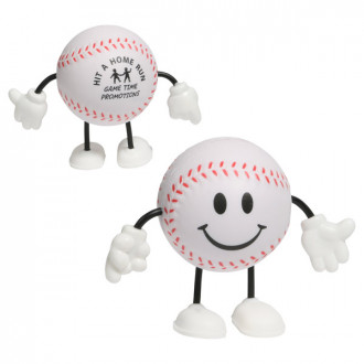 Baseball Figure Stress Relievers