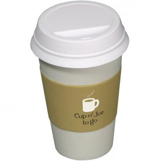 To Go Coffee Cup Stress Relievers