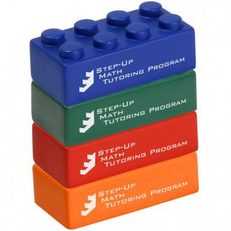 Building Block 4 Piece Sets Stress Relievers