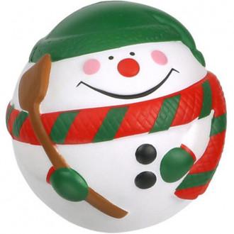 Snowman Ball Stress Relievers