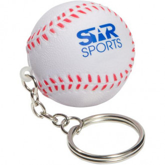 Baseball Key Chains Stress Relievers
