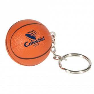 Basketball Key Chains Stress Relievers